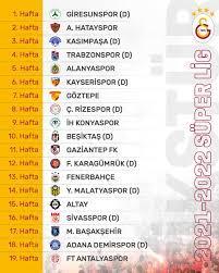 """Galatasaray SK on Twitter: """"Süper Lig 2021-2022 Sezonu fikstürümüz belli  oldu! Lig tarihinin en çok şampiyonluk yaşamış kulübü olarak, bu başarılara  bir yenisini daha eklediğimiz bir sezon olmasını diliyoruz! 🤜🤛 🔗  https://t.co/ypMnreBlAk…"""