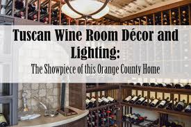 wine cellar lighting. Tuscan Wine Room Décor And Lighting: The Showpiece Of This Orange County Home - YouTube Cellar Lighting I