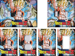 Dragon Ball Z Decorations Dragonball Z 100 Light Switch Covers Home Decor Outlet eBay 82