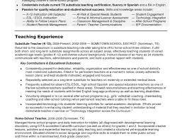 6 Teaching Cv Template Welder Resume Teacher Sample Pics Cover