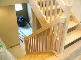 replace stair railing. Replace Stair Railing Cost Replacing Rails Renovation Warm Contemporary Maple Rail Replacement Staircase A