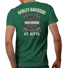 skull wing t shirt harley davidson st kitts