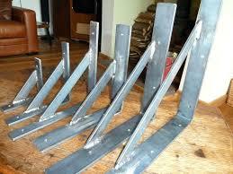 handmade mild steel wrought iron shelf stay wall brackets heavy duty not cast heavy duty brackets