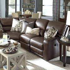 Pillows For Brown Leather Couch Brown Leather Couch With 2 Tufted