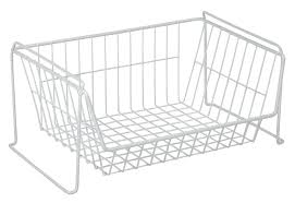pantry closet organizer in wire baskets closetmaid basket selectives
