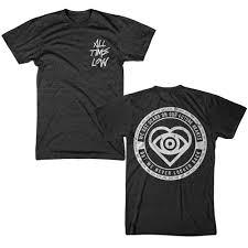 All Time Low T Shirt Design Last One Future Hearts Lyric Dark Heather Hlr0 Merchnow