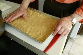 making knafeh with seedo wandering e