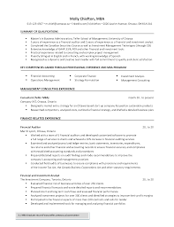 Chronological Resume Examples 2020