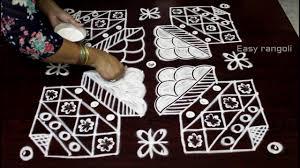 Bhogi Muggulu Designs With Dots Bhogi Kundalu Muggulu Designs With 12x12 Straight Dots Youtube