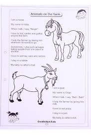 Farm Animal Worksheet This Worksheet Is