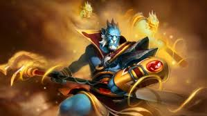 keeper of the light dota 2 hero knight on a white horse spear