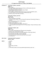Duties And Responsibilities Of A Cna 10 Certified Nursing Assistant Resumes Samples Proposal Sample