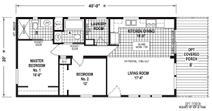 20 x 40 double wide hud manufactured home silver springs limited series intermediate d homes