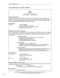 Resume Examples Skills Section Beginners Samples First Job