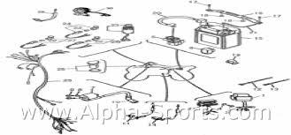 baja dune 150 wiring diagram baja diy wiring diagrams alpha sports baja motorsports catalog