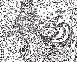 Small Picture FREE Zen Doodle Design Adult Coloring Page FREE Printable