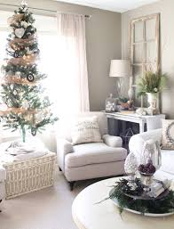 Xmas Living Room Decor Apartment Christmas Pictures Residential Holiday Decorating And