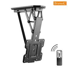 Remote Control Motorized Flip Down TV Ceiling Mount PLB-M0522 For most 23''