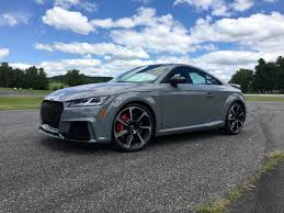 2018 audi tt rs black. brilliant black first drive 2018 audi tt rs coupe and audi tt rs black
