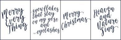 Free Christmas Cards Printable Chic Christmas Cards Free To Print