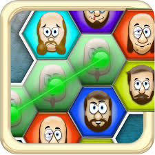 a bald ugly fat mustache man matching game free version
