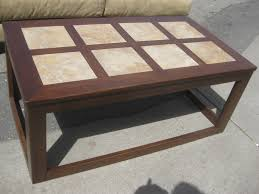 SOLD   Tile Top Coffee Table   $20