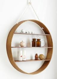 ... Circle Shelf Contemporary Display And Wall Shelves By Hard To White Wall  Hanging Design Round Shape