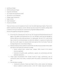Letter Of Origin Statement Of Origin Tirevi Fontanacountryinn Com