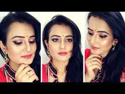 simple indian wedding guest makeup look