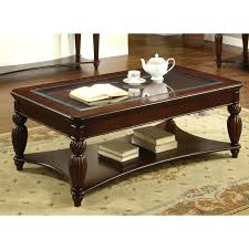 3 piece coffee table sets with drawers set mission solid oak and end furniture of