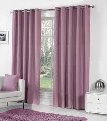 sorbonne ready made lined eyelet curtains