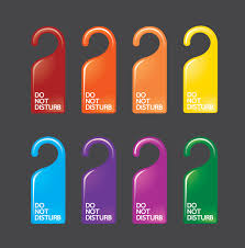 door hanger design real estate. Los Angeles Restaurant Door Hanger Design Real Estate