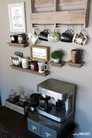 home coffee bar furniture. how to create a coffee station at home diy with vintage dresser bar furniture