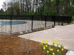Decorative Pool Fence Residential Aluminum Fence Commercial Aluminum Fencing