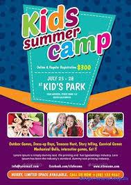 Summer Camp Flyer Template Stunning 44 Best Kids Summer Camp Flyer Print Templates 44 Print