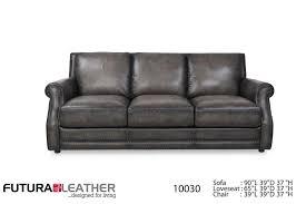 futura leather furniture. Futura Leather Fusion Charcoal Sofa Item Number Inside Furniture Great American Home Store