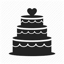 Biscuit Cake Dinner Food Heart Pastry Sweetness Wedding Icon