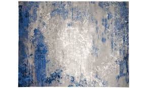picture of nourison twilight blue grey 8x10 rug