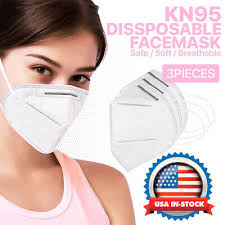 KN95 FACE MASK <b>Protective</b> Respirator Cover Air Filter Safety ...