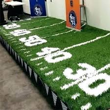 football field rug carpet man lovable large area for