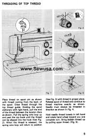 How To Thread Kenmore 158 Sewing Machine