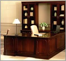 deluxe wooden home office. Solid Deluxe Wooden Home Office