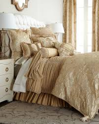 palais royale hotel collection duvet cover in chocolate bed