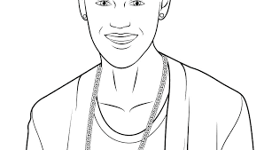 justin bieber coloring pages page free big of general high quality jus