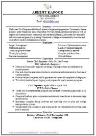 Sample Resume For Fresher Computer Science Engineer   Gallery