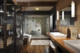 Moderne Dusche Braun Mosaik Dekoration Wohndesign