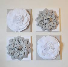 flower wall art decor 3d flower wall decor laurensthoughts best pertaining to best and newest flowers on 3d white flower wall art with image gallery of flowers 3d wall art view 14 of 20 photos