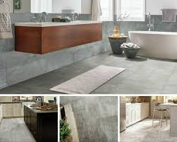 concrete or cement flooring isn t just for basements or garages anymore it s made way into the heart of the home designers are loving the industrial look