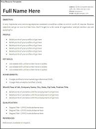 How Do Make A Resume Professional Job Resume Template Professional ...