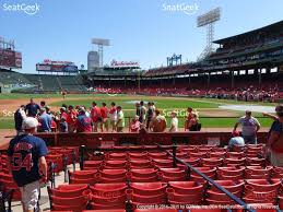 Boston Red Sox Seating Chart View Fenway Park Field Box 60 View Addam Boston Red Sox